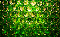 A hundred green bottles by Adam Lack